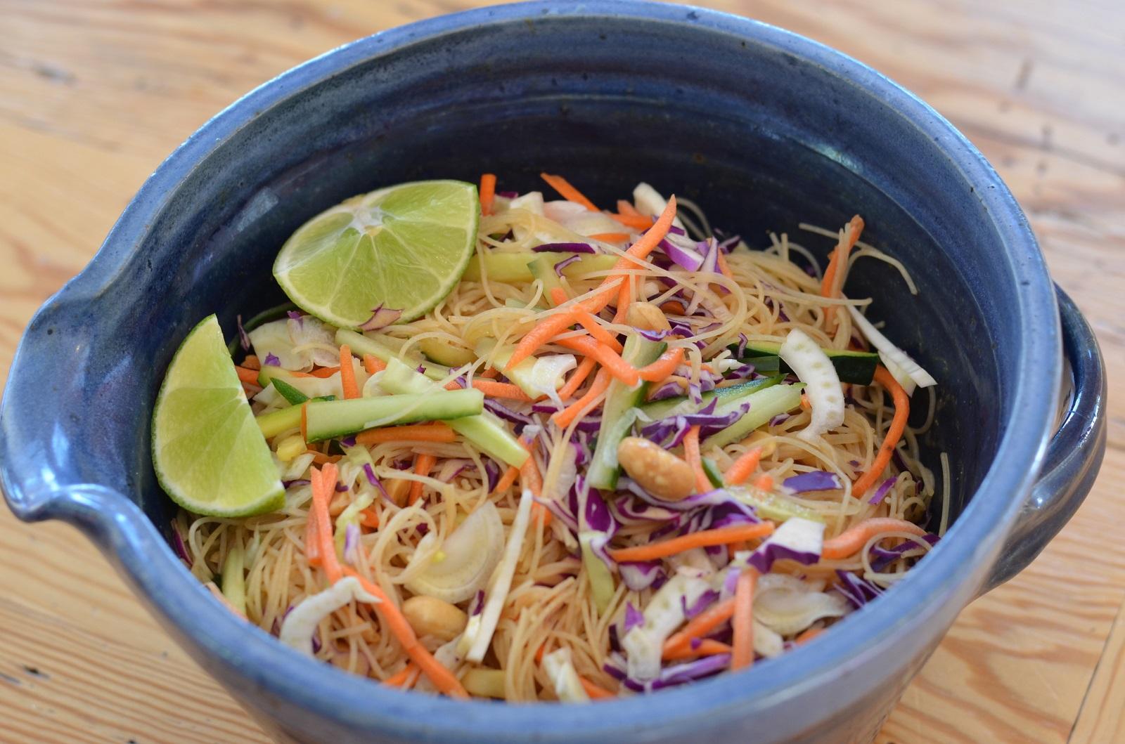 Asian Noodle Salad (Pad Thai)