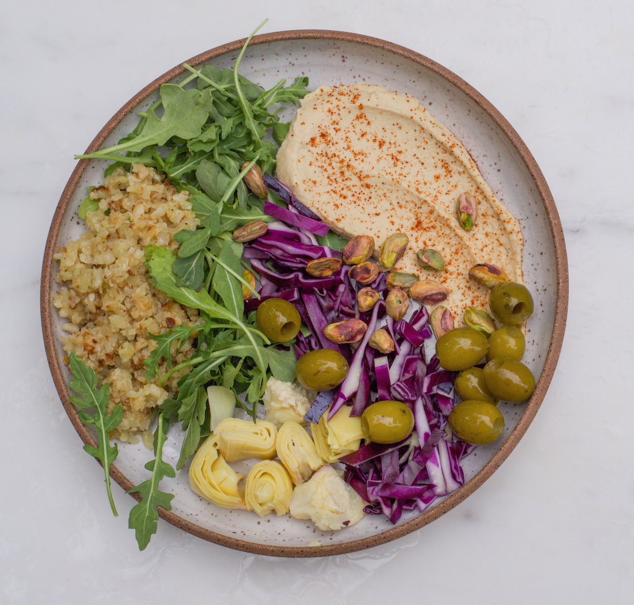 Riced Cauliflower Bowl (Grain-Free)