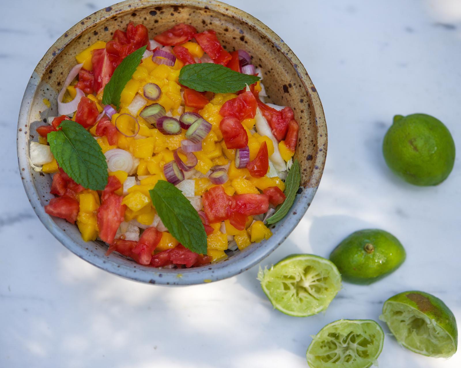 Mango Jicama Salsa