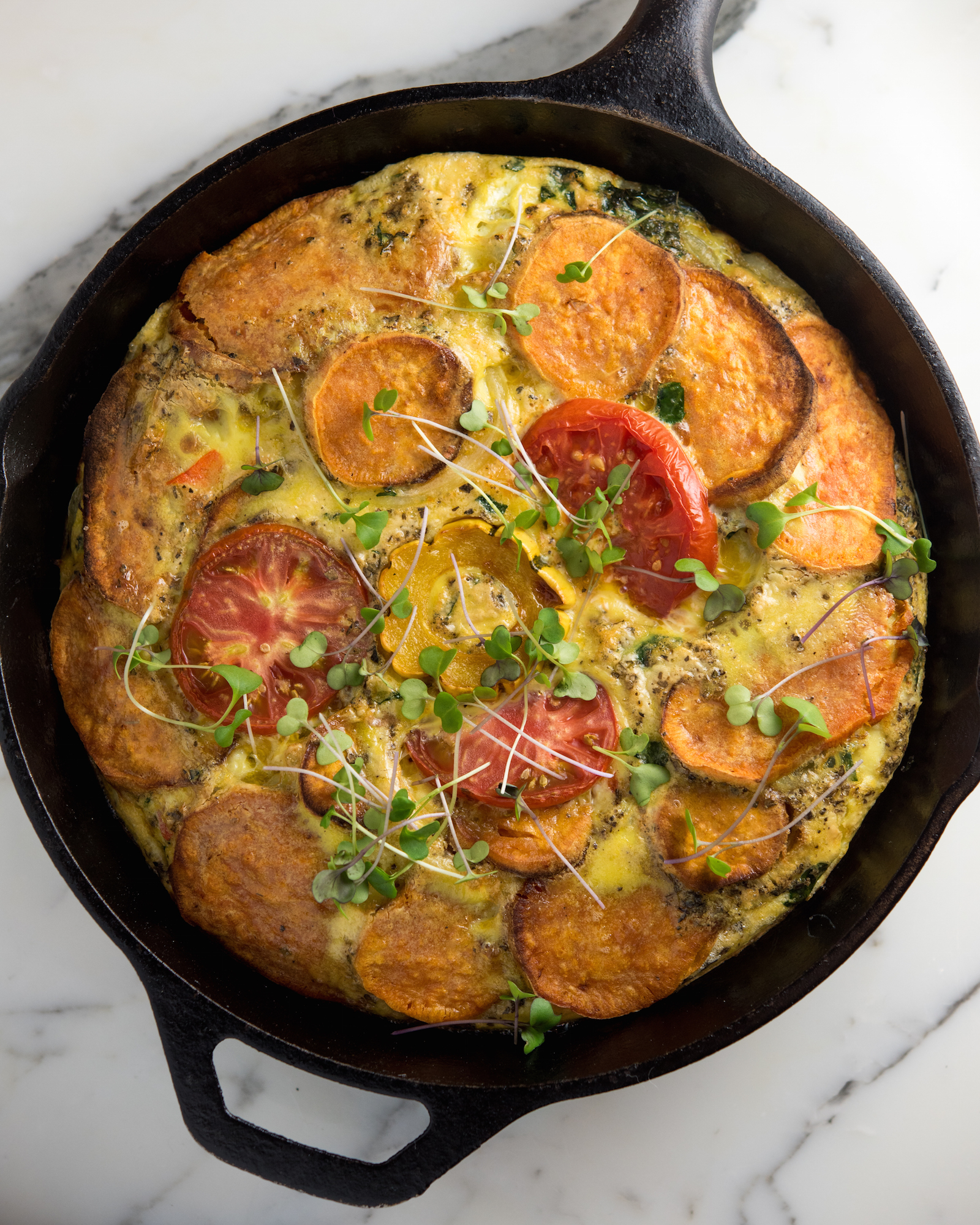 Fall Frittata: A Seasonal, Nutritious, High-Protein, Easy Dinner