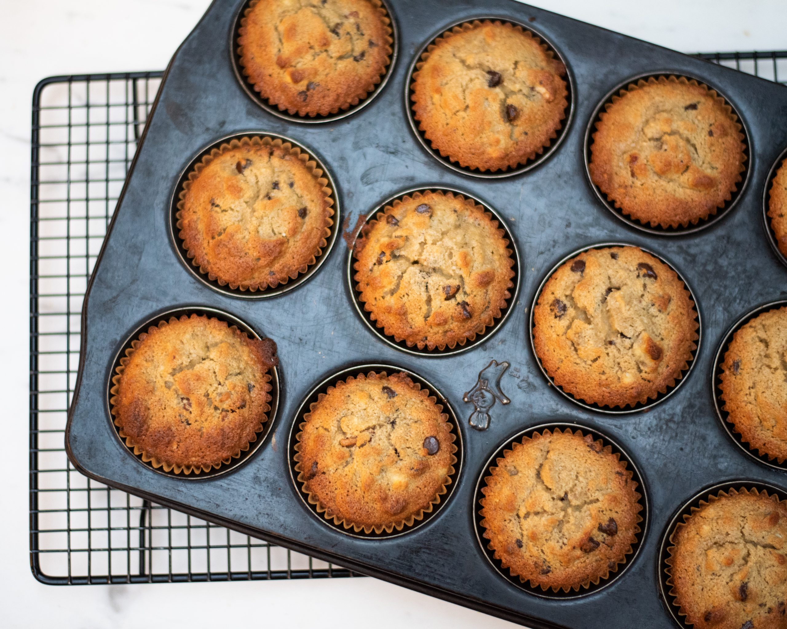 Egg-free Banana Bread Muffins