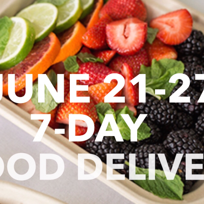 June Healthy Meal Delivery (June 21-27)