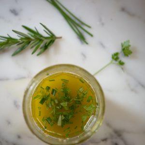 summer herb vinaigrette